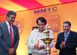 Shri Suresh P. Prabhu Hon'ble Minister of Commerce &Industry and Civil Aviation inaugurates MMTC 'S FOG 2018 at Convention Hall at Ashoka Hotel ,N.Delhi on 01.11.18